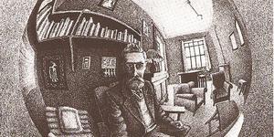 Реконструкция комнаты M.К.Эшера