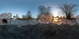 Огненный лёд