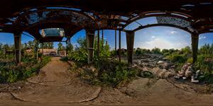 Заброшенный асфальтовый завод