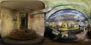 Подземный бункер в Беловежской пуще. Дизельные генераторы.
